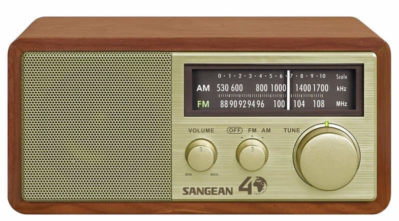 Sangean tabletop radio