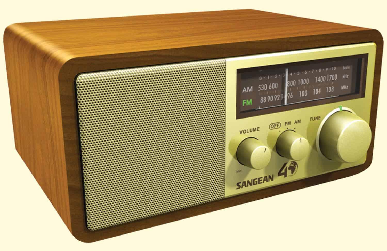 sangean wr11-se tabletop radio